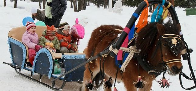 Альтернативный вариант, чтобы сделать сани для лошади