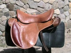 Вид кавалирийского седла