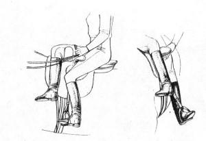 Особенности дамского седла