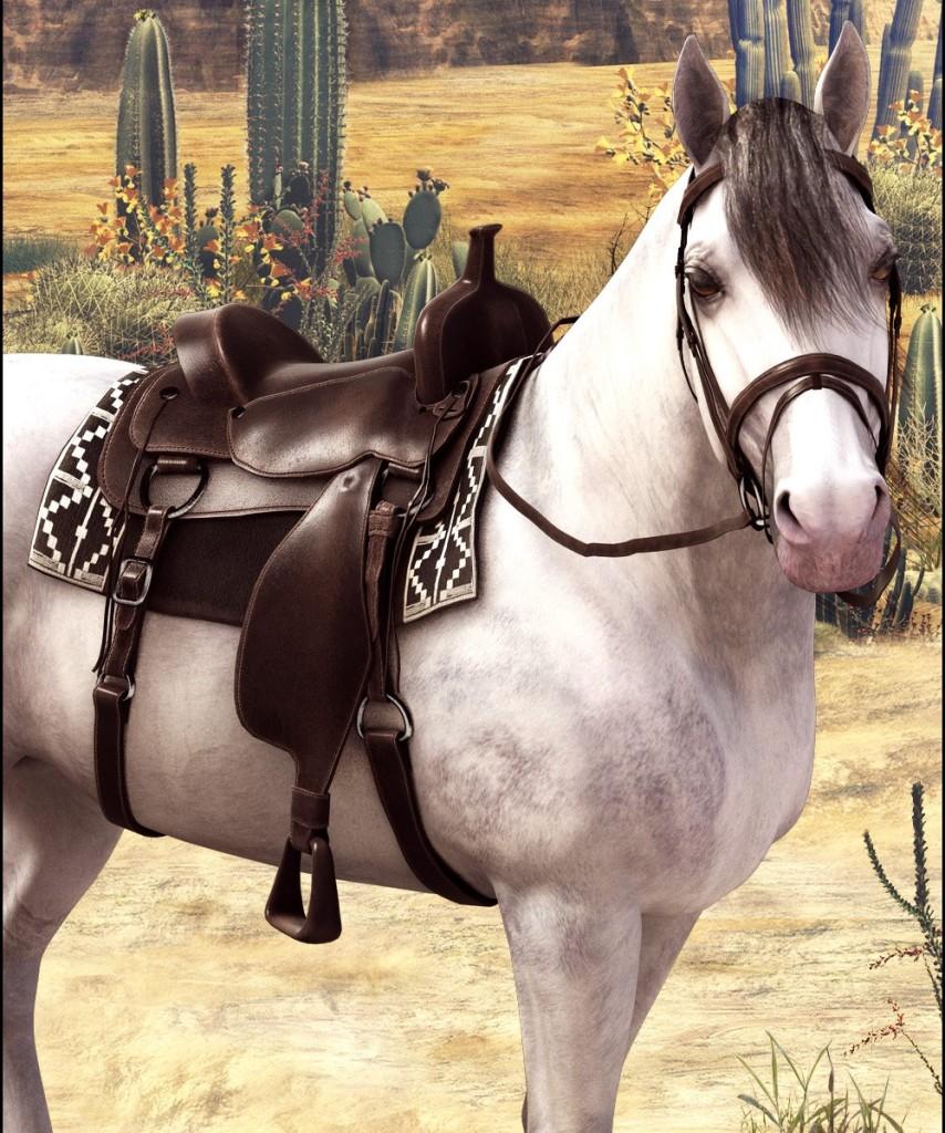 Ковбойские седла возникли на основании испанских