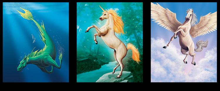 Мифические лошади